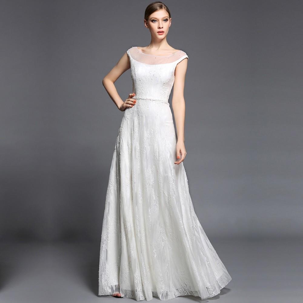261124c23d7 Plesové šaty Dorisqueen luxusní šifonové dlouhé šaty s výrazným ...