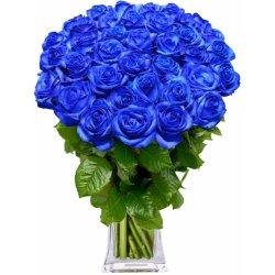 Modré růže - rozvoz květin
