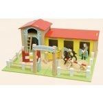 Le Toy Van jezdecká škola pro koníky