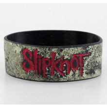 Slipknot Distressed Logo BRAVADO náramek 150912RB00