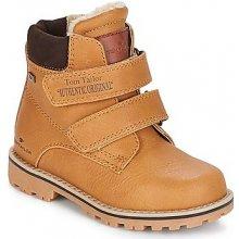 Tom Tailor Kotníkové boty Dětské TERNA hnědá 65135ca584