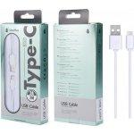 PLUS datový a nabíjecí kabel B2521, konektor USB-C, 2m