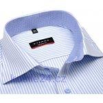 Eterna Modern Fit košile se světle modrým vetkaným proužkem extra  prodloužený rukáv 942d9e12cb