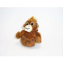 Přívěsek na klíče Plyšová opice 7 cm plyšové hračky 765ad39ee34