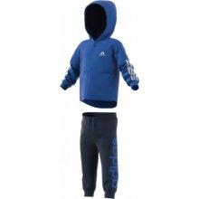 Adidas Chlapecká tepláková souprava Jogg modrá