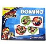 Clementoni Obrázkové domino: Mickey Mouse, závodníci