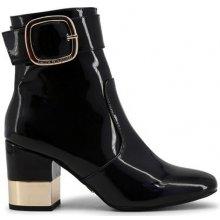 b97606f67 Laura Biagiotti Kotníkové boty na podpatku 5026_BLACK
