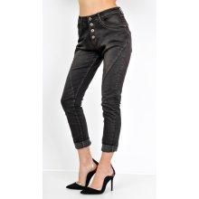 379 Kč London club · Basic Černé džínové kalhoty B252 černá 73107e69cb