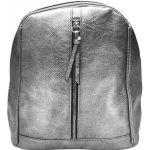 Tapple elegantní dámský kabelko-batoh z eko kůže stříbrná 8cdb214530