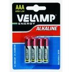 Baterie VELAMP Alkaline AAA 4ks
