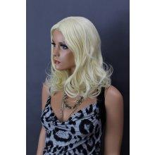 Elementrix 2B-613 dámská paruka středně dlouhá blond