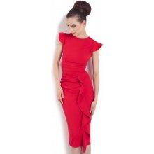 9b150701dd65 Kartes Moda šaty dámské KM66-1 červená