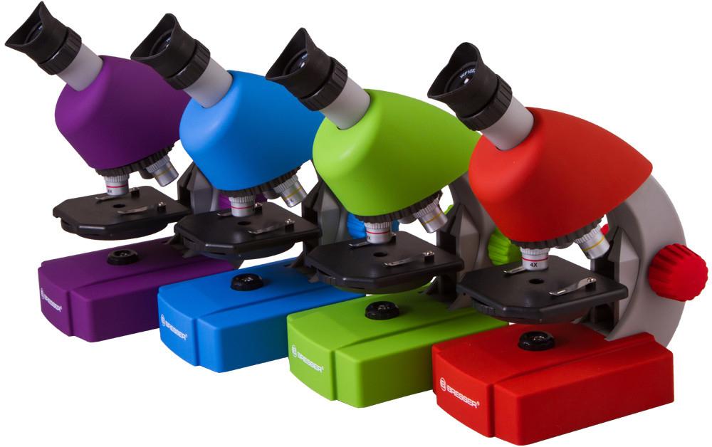 Bresser junior microscope violet gsf unique