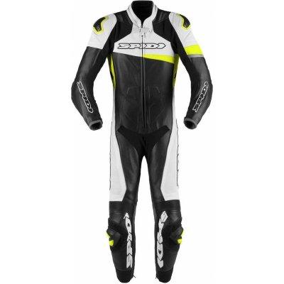 Jednodílná kombinéza Spidi Race Warrior PRO černá/bílá/žlutá
