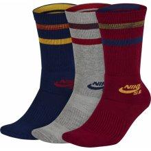 Nike ponožky SB 3PPK Crew Socks Multi-Color 7bc719e792