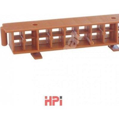 HPi Ochranná větrací mřížka 2000 univerzální 1000x60 mm bez hřebene černá