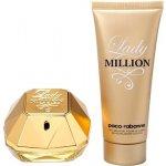 Paco Rabanne Lady Million EDP 80 ml + tělové mléko 100 ml dárková sada