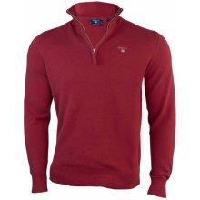 Gant Pánský svetr se zipem - Červená