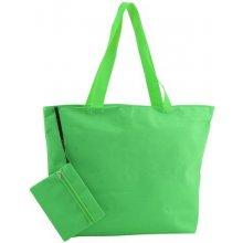 Monkey plážová taška Zelená