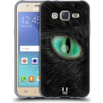 Pouzdro HEAD CASE Samsung Galaxy J5, J500, (J5 DUOS) vzor pohled zvířete oko kočka
