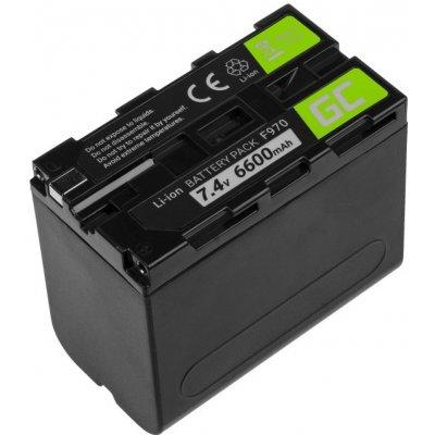 Green Cell NP-F970 6600 mAh baterie - neoriginální