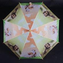 Vystřelovací dětský deštník Kara oranžový