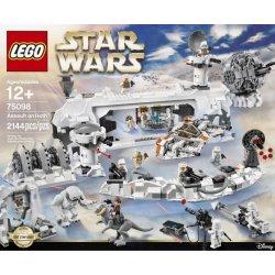 Lego Star Wars 75098 Útok na planetu Hoth Heureka.cz