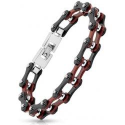 57902cfa0 Náramek Šperky4U pánský ocelový náramek řetěz OPA1025.0