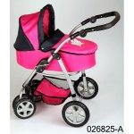 Boncare Kočárek pro panenky M4 růžový