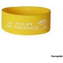 CurePink náramek silikonový na zápěstí Tour de France 326055