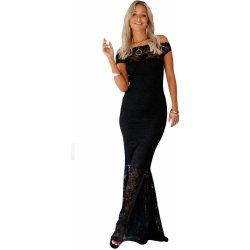 93456b77606 Večerní dlouhé krajkové šaty černá alternativy - Heureka.cz