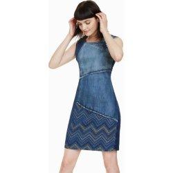 77173a2f8596 Dámské šaty Desigual šaty Elda denim patch