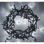 LED vánoční řetěz, 60 LED, 10m, přívod 3m, IP20, studená bílá
