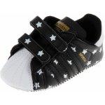 Adidas SUPERSTAR CRIB černá Boty