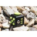 Fidget cube černo zelený