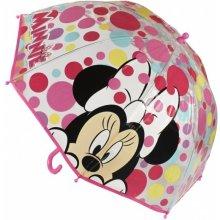 CERDA Průhledný deštník Minnie puntíky 70 cm