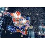 Komar 1-426 fototapeta Disney Spider-Man Neon, rozměr 184 x 127 cm