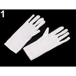 Společenské rukavice 23 cm dámské bílá alternativy - Heureka.cz d01333b995