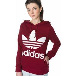 Adidas Originals Trefoil červená dámská mikina. Adidas Originals Trefoil  červená 47a123fdc0