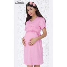 Vienetta Secret dámská noční košile mateřská malý zajíc světle růžová