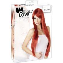 Wigged Love Miranda Wig dlouhá paruka zrzky