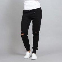 Urban Classics Ladies Cutted Terry pants černé ea70cae794