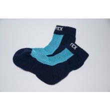 Surtex Ponožky 80% merino pro dospělé - modré 8e53d87802