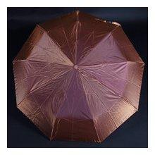 Luxusní dámský skládací deštník Darsi hnědý