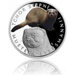 Česká mincovna Stříbrná mince Ohrožená příroda Tchoř stepní proof 16 g