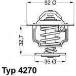 WAHLER Termostat WH 4270.88D