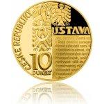 Česká mincovna 2018 Desetidukát ČR Ústava 34,91 g