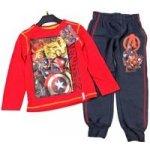 Marvel 2set Červené triko + tmavošedé tepláky s Avengers