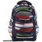Target batoh Tmavě modrý s barevnými pruhy