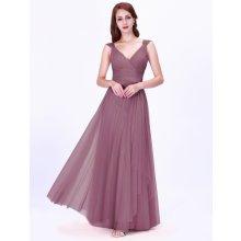 Ever Pretty luxusní dlouhé šaty 7303 starorůžová 424aaf176ee